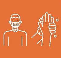 Wear masks and wash hands