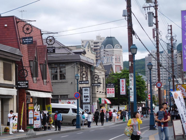 Otaru sakaimachi shopping street
